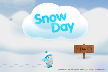 Snow Day Title Screen
