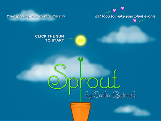Sprout Title Screen
